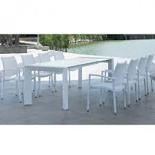 tavoli da giardino rattan set da esterni in rattan con tavolo e sedie set arketipo 160 w e