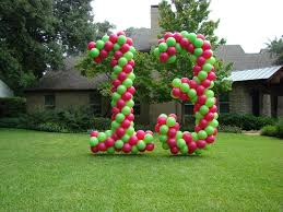 number balloons delivered balloons everyday
