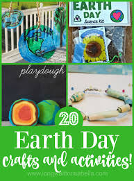 earth day activities and crafts to try with the kids