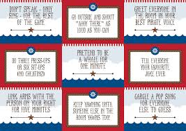 Nautical Themed Christmas Cards - free nautical forfeit cards u2013 for pass the parcel or another sea