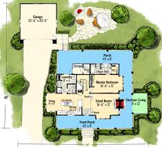 classic country farmhouse house plan 12954kn architectural