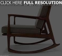 Mid Century Modern Rocking Chair Mid Century Modern Rocking Chair Urban Outfitters Ideas Of Chair