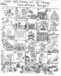 christmas song worksheet free worksheets library download and
