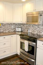 Mosaic Tile For Backsplash by Best 25 Kitchen Tile Backsplash With Oak Ideas On Pinterest