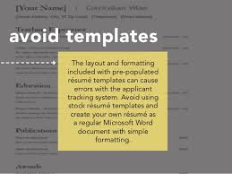 Resume Applicant Your Resume U0026 The Applicant Tracking System