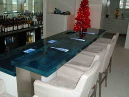 countertop cast glass countertops custom countertops shell stone