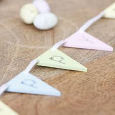 Easter Decorations Bunting happy easter bunting easter decoration
