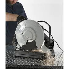 ironton abrasive chop saw 14in 15 amp 3800 rpm misc power