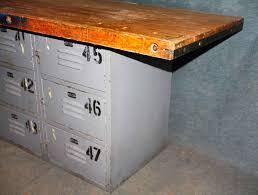 butcher block table base michgan maple block solid wood counter vintage industrial butcher block table with vise u0026 locker base