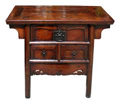 chinese carved cedar chest 18th century or earlier for sale at