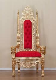 king chair rental gold lion king throne chair upholstery treasures