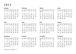 printable calendar year 2015 2014 calendar year nasionalis