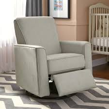 Rocking Recliner Chair For Nursery Grey Nursery Swivel Glider Recliner Chair Furniture