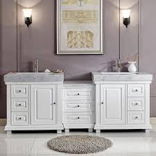 Ebay Bathroom Vanities Bathroom Vanity 90 Modern White Voicesofimani