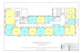 Floor Planners Myles Annex Floor Plan Housing Boston University