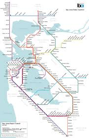 San Francisco Red Light District Map by A Map Of San Francisco U0027s Subway System That Almost Was Bay Area