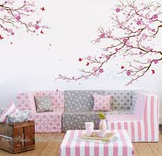 tree wall decal cherry blossom color the walls of your house tree wall decal cherry blossom cherry blossom tree wall decals with butterfly wall by chinstudio