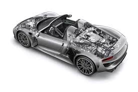 martini porsche 918 porsche 918 by car magazine