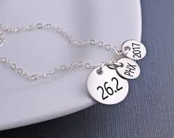 jewelry personalized marathon jewelry etsy