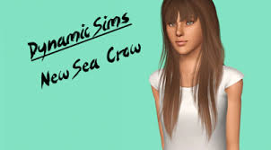 sims 3 hair custom content female hair newsea crow retexture the sims 3 custom content