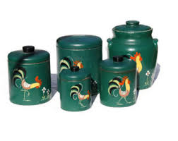 green canisters etsy
