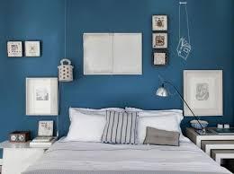 chambre peinture bleu chambre on mise sur des murs colorés décoration peinture