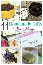 11 homemade gifts for mom