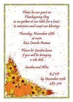 thanksgiving dinner invitation at cardsshoppe