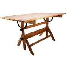 Industrial Drafting Table Antique Drafting Tables Foter