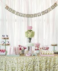 bridal shower decorations 39 glitzy and glam bridal shower ideas happywedd