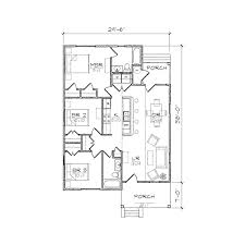 Centralized Floor Plan by Carolinian I Bungalow Floor Plan Tightlines Designs