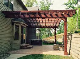 Attached Pergola Kits by Pergola Kit Ideas For Your Next Outdoor Dinner Party