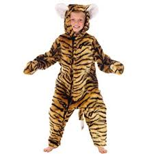Bunny Halloween Costume Toddler Amazon Tiger Costume Kids 6 8 Yrs Toys U0026 Games