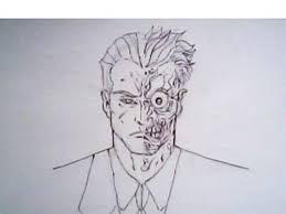 draw twoface batman detective comics dc comics