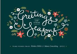 holiday business greeting cards customer and business appreciation