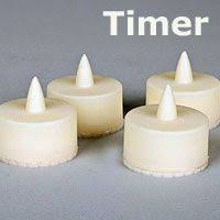 outdoor led tea lights 3 white flameless battery operated outdoor candles with timer at