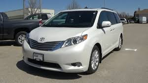 limited toyota 2014 toyota sienna limited full review start up and walkaround