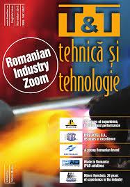 t u0026t tehnica si tehnologie english issue november 2015 by