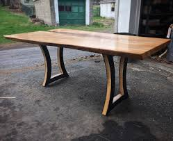 live edge outdoor table live edge table
