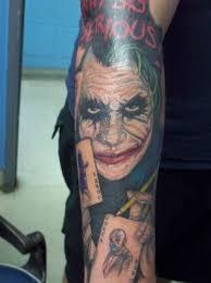 joker tattoo on hand tattoo from itattooz