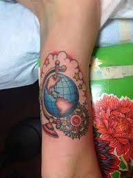 25 trending globe tattoos ideas on pinterest world travel