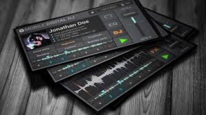 mobile traktor dj business card template youtube