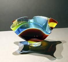 Fine Art Lighting Fixtures by Northern Lights Bowl By Artist Thomas Maras Fine Art Blown Glass