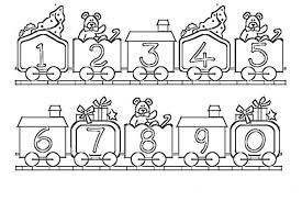 number train printable coloring pages coloring kids