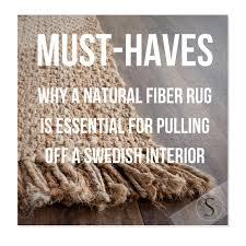 Fiber Rug Why A Natural Fiber Rug Is Essential For Pulling Off A Swedish
