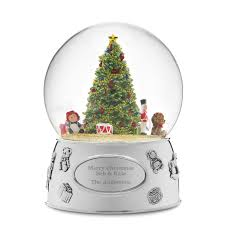 personalized christmas snow globes at things remembered