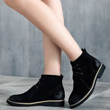 s boots lace up low heel s casual toe lace up low heels ankle boots