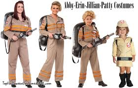 Halloween Costumes Ghostbusters Ghostbusters 2016 Costumes Ghostbusters Halloween Costumes