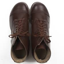 wwii army service shoes rubber taps made in usa mens boots
