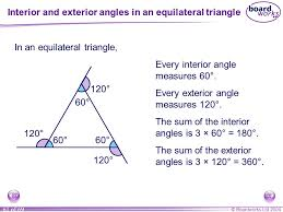What Is Interior And Exterior Angles Ks3 Mathematics S1 Lines And Angles Ppt Online Download